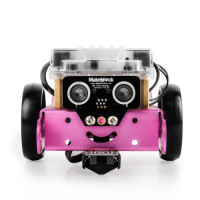 mBot V1.1 藍芽版本 粉紅色(含鋰電池)