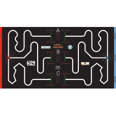 競賽場地-AI尋寶爭霸賽場地圖