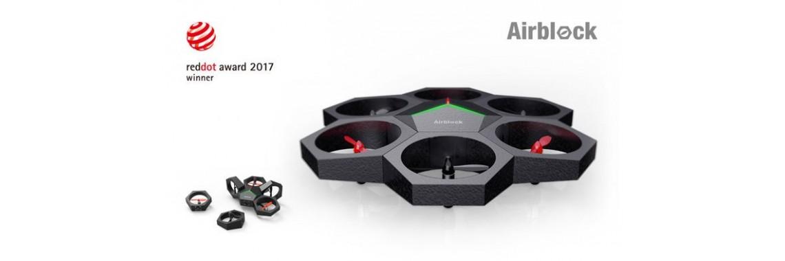 Airblock 六軸飛行器 海陸空磁石無人機