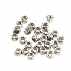 Nylon Lock Nut 4mm (50-pack)