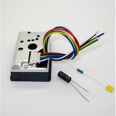 GP2Y1010AU0F 灰塵感測器模組 粉塵顆粒濃度 PM2.5 霧霾檢測
