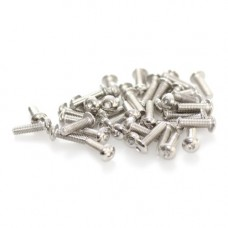 Socket Cap Screw M4 x 16mm - Button Head (50-Pack)